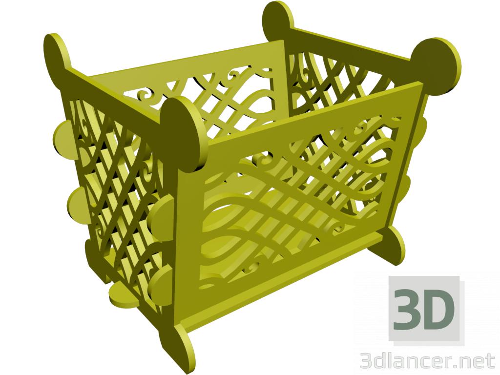 3d model Basket - preview