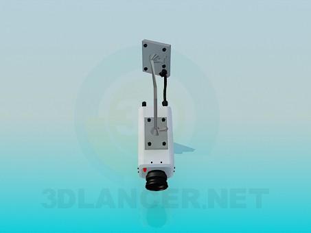 3d model Surveillance camera - preview