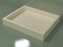 Shower tray Alto (30UA0128, Bone C39, 100x80 cm)