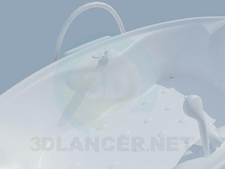 3d model Bath mat - preview