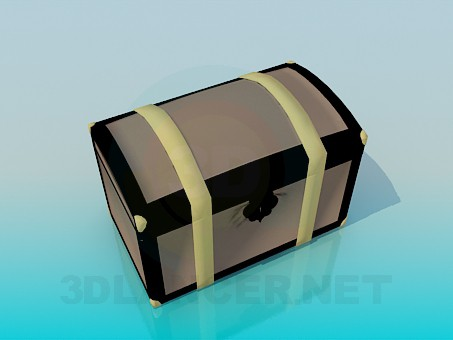 3d modeling Chest model free download