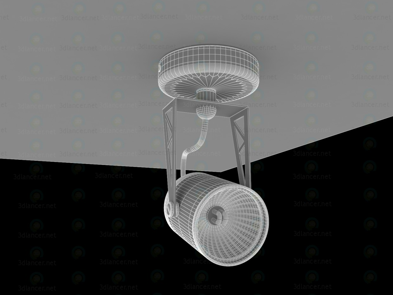 3d Светильник tecsun HTR-104 GU10 50W модель купить - ракурс