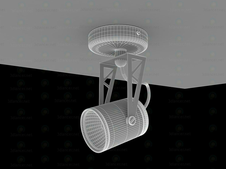 TECSUN HTR-104 lámpara GU10 50W 3D modelo Compro - render