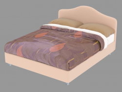 Double bed Peonia