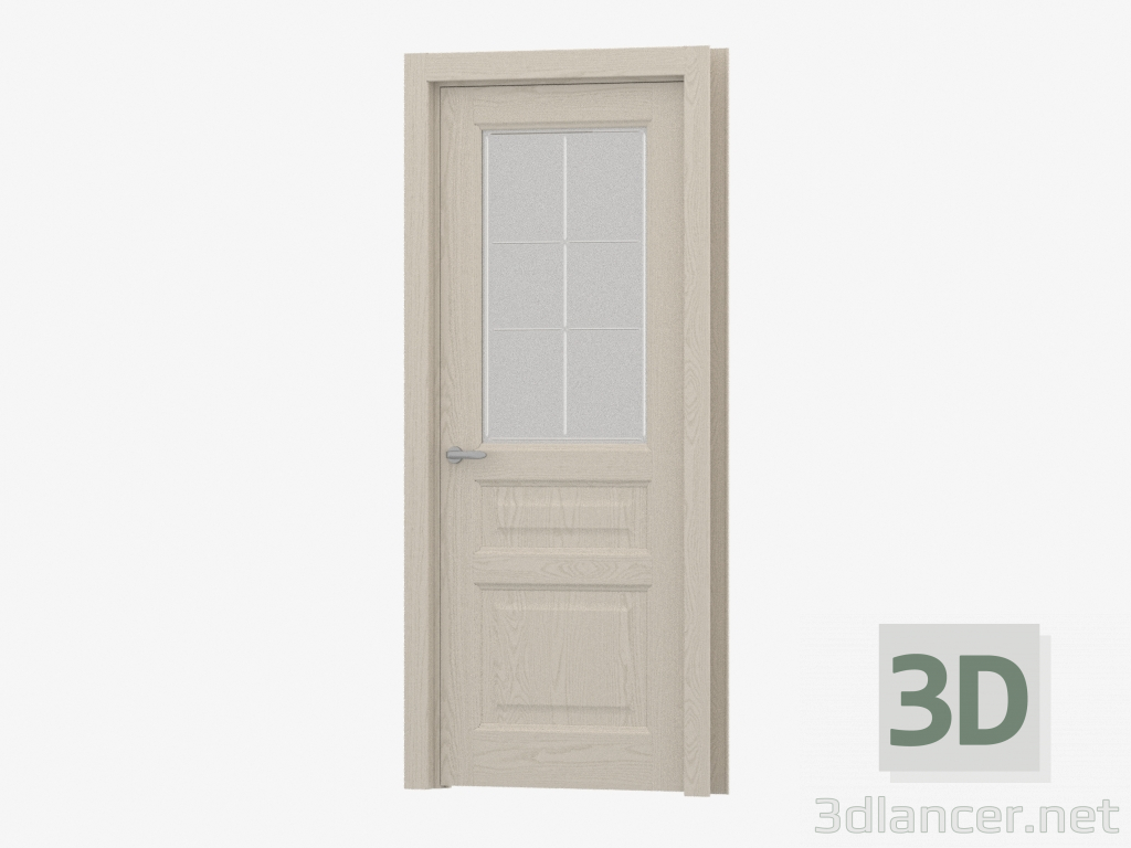 3d model Interroom door (43.41 G-P6) - preview