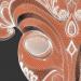 3 डी अफ्रीकी मुखौटा मॉडल खरीद - रेंडर