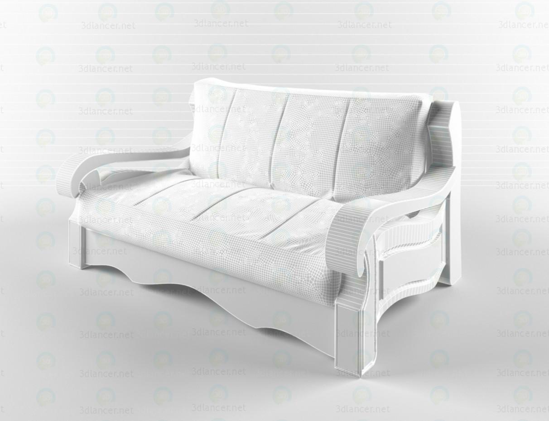 modelo 3D sofá Brighton - escuchar