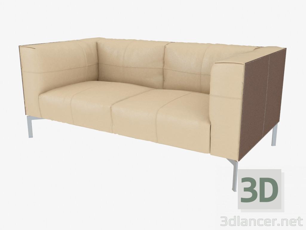 Poltrona Frau Bosforo.3d Model Leather Sofa Poltrona Frau Max 2013 Free