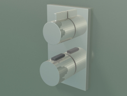 Built-in shower and bath thermostat, single outlet (36 425 670-080010)