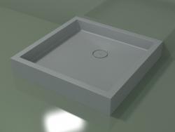 Shower tray Alto (30UA0130, Silver Gray C35, 90x90 cm)