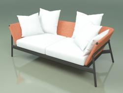 Sofa 002 (Metal Smoke, Batyline Orange)