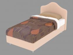 Single bed Peonia