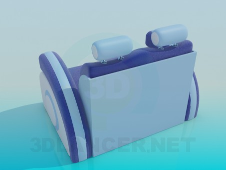 3d model Sofa chair - preview
