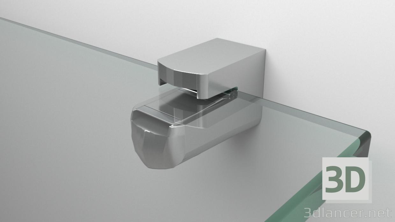 modèle 3D Soporte_Repisa_Vidrio - preview