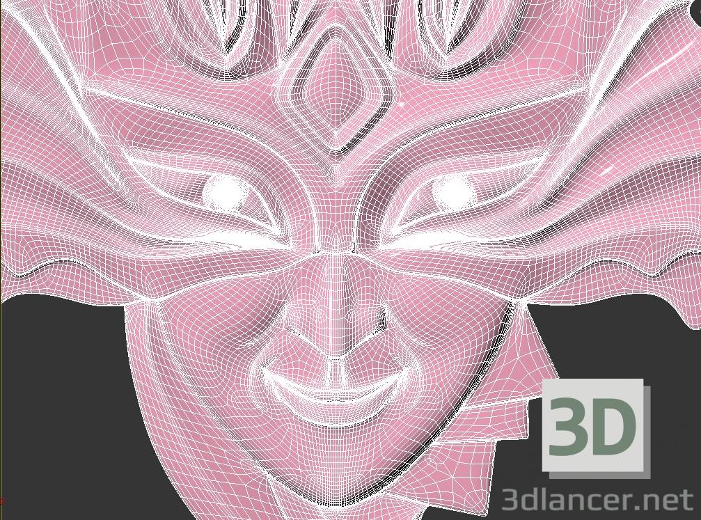 3 डी कार्निवल मास्क मॉडल खरीद - रेंडर