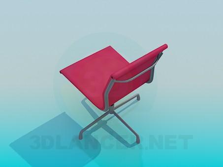 3d модель Вращающийся стул – превью