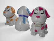 Puppy figurine