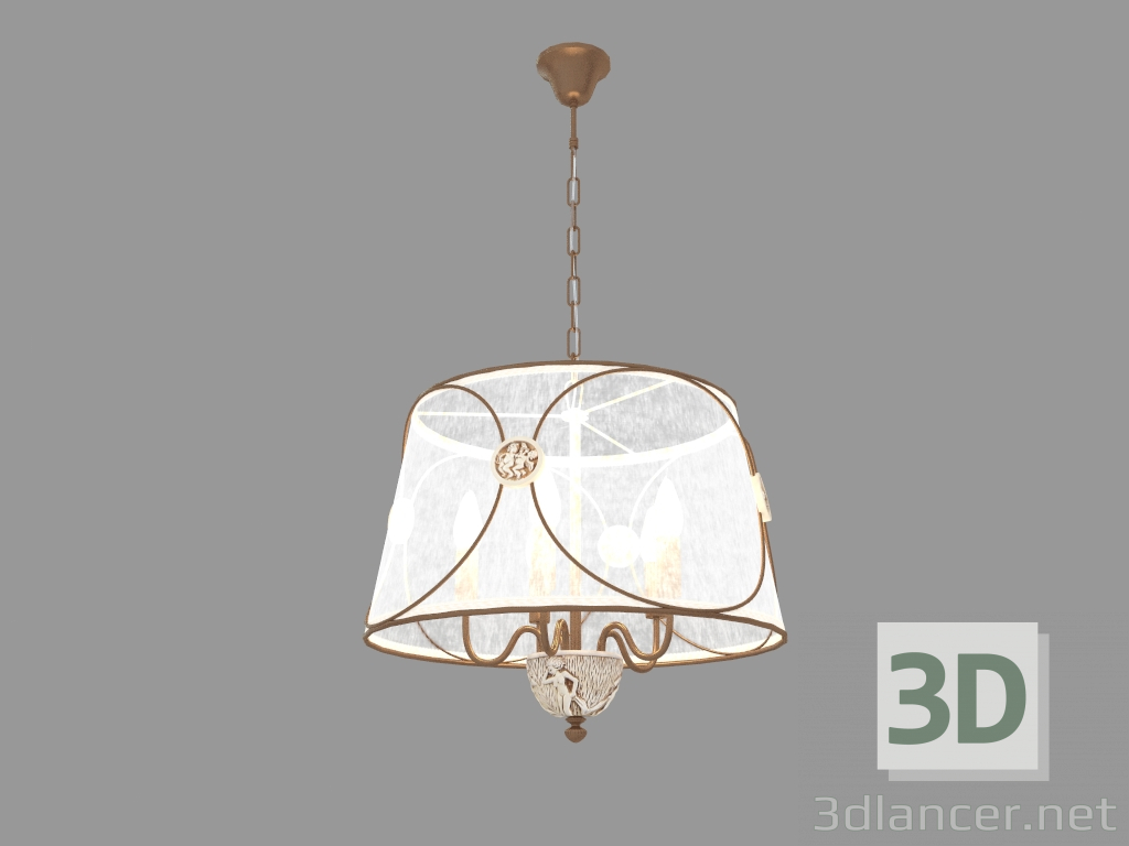3d model Chandelier LETIZIA (ARM365-05-R) - preview