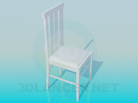 3d model Ordinary chair - preview