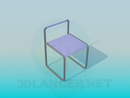 3d modeling Chair for child model free download