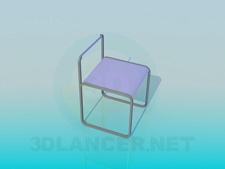 modelo 3D Silla para niño - escuchar