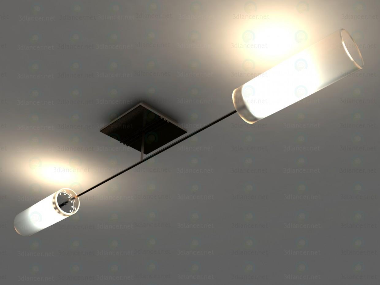 3d Потолочный светильник Citilux Болеро CL118121 модель купить - ракурс
