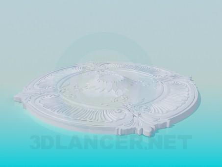 3D Modell Deckenauslass - Vorschau