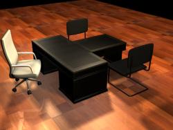 Mesa do diretor