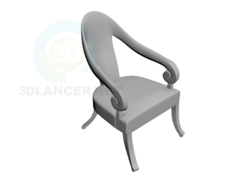 modelo 3D Silla Buntarman - escuchar