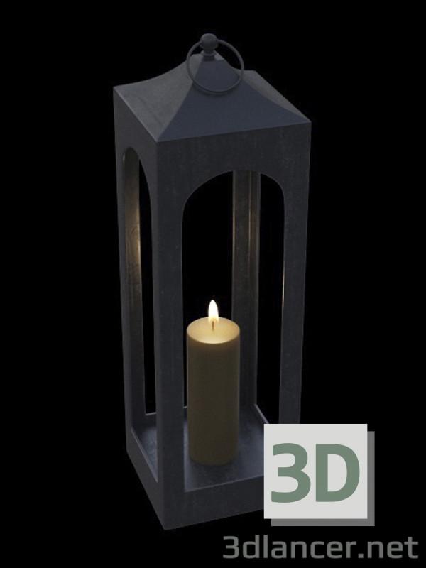 3 डी मॉडल दीपाधार - पूर्वावलोकन