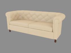Шкіряний диван двоспальний (190)