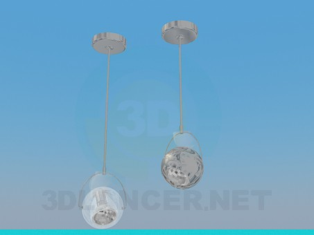 3d model Luminaires for halogen lights - preview