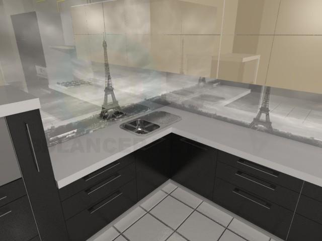 3d modeling Kitchen Paris model free download