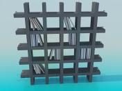 Этажерка для книг и сувениров