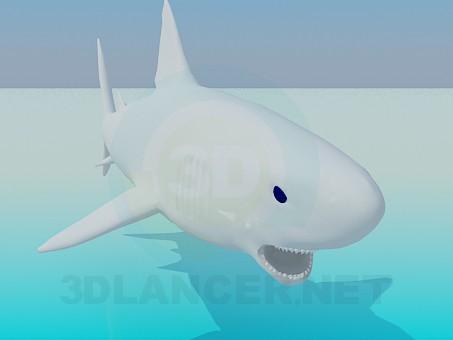 3d modeling Shark model free download
