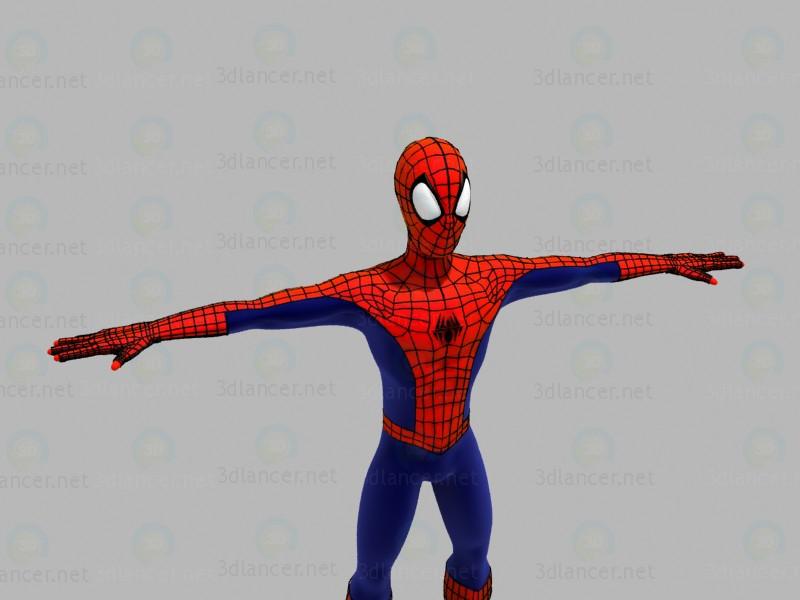 3d моделирование Человек Паук модель скачать бесплатно