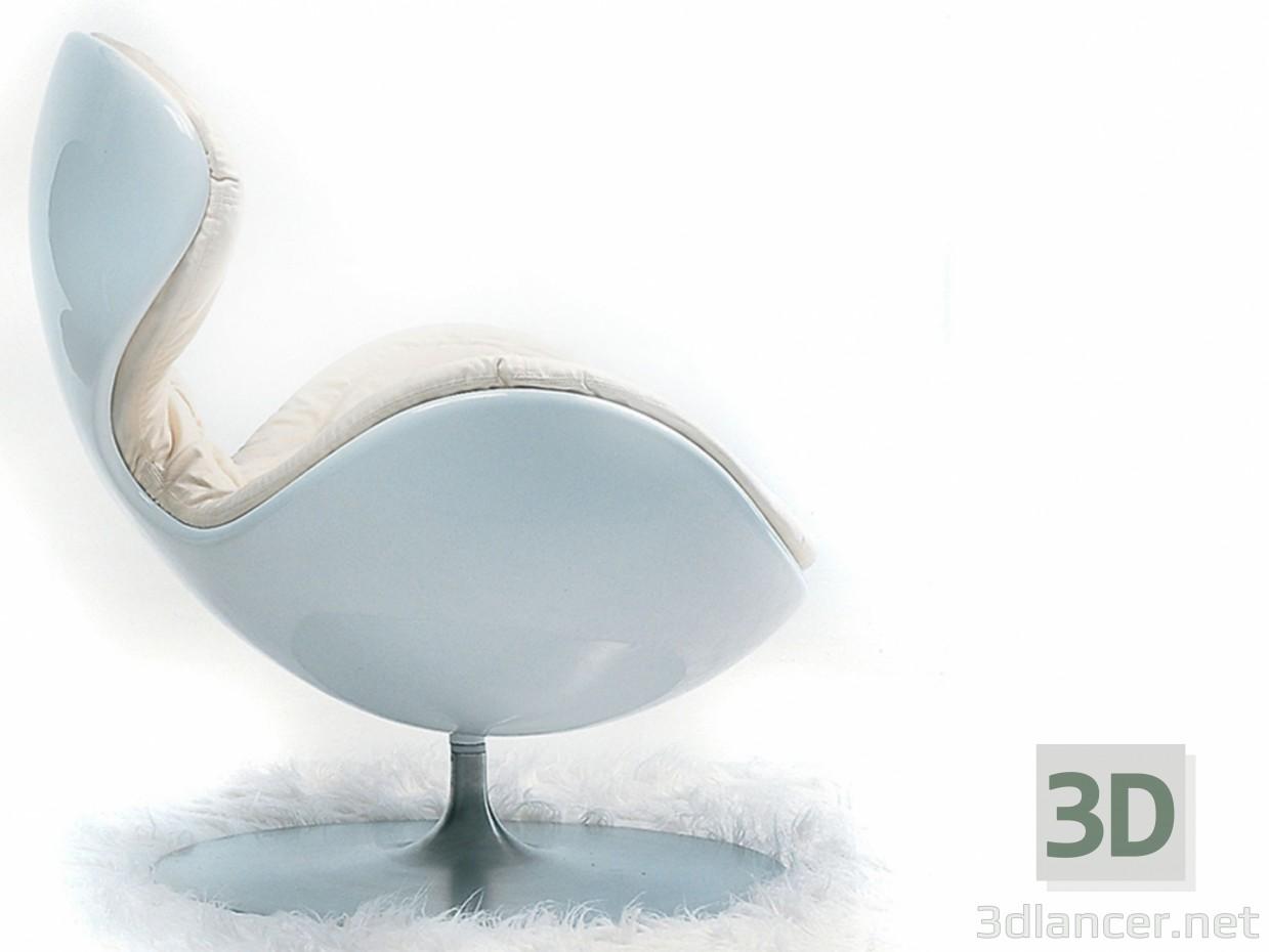 3 डी मॉडल हाथ कुर्सी - पूर्वावलोकन