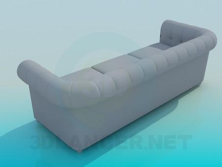 modelo 3D Sofás - escuchar