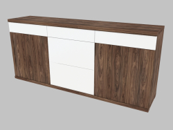 Three-section buffet (6160-45)