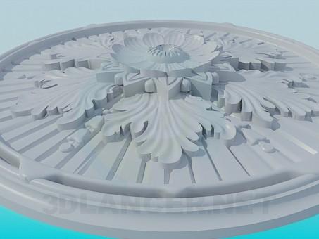 modelo 3D Salida para lámparas - escuchar