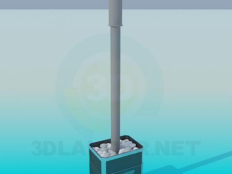 3D modeli Sauna sobası - önizleme