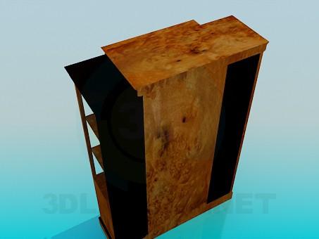 3d model Bookcase - preview