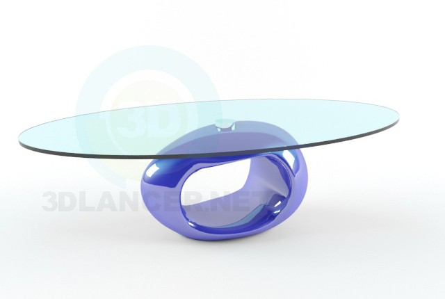 3d model Coffee table Signal Etna - preview