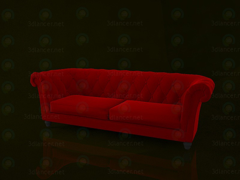 3d model Chesterfield Sofa - preview