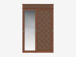 corridoio di ricezione con specchio