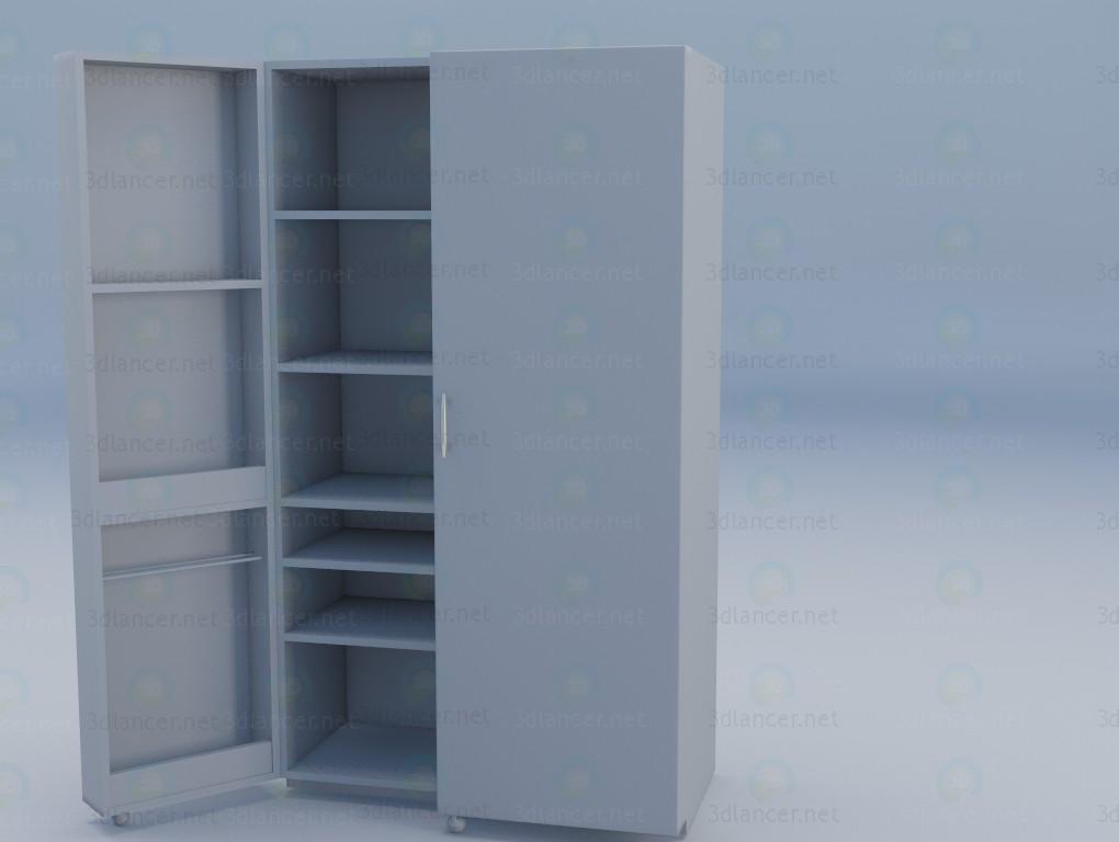 3d model Sandwich Wardrobe - preview