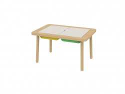 Children's table FLYSAT IKEA