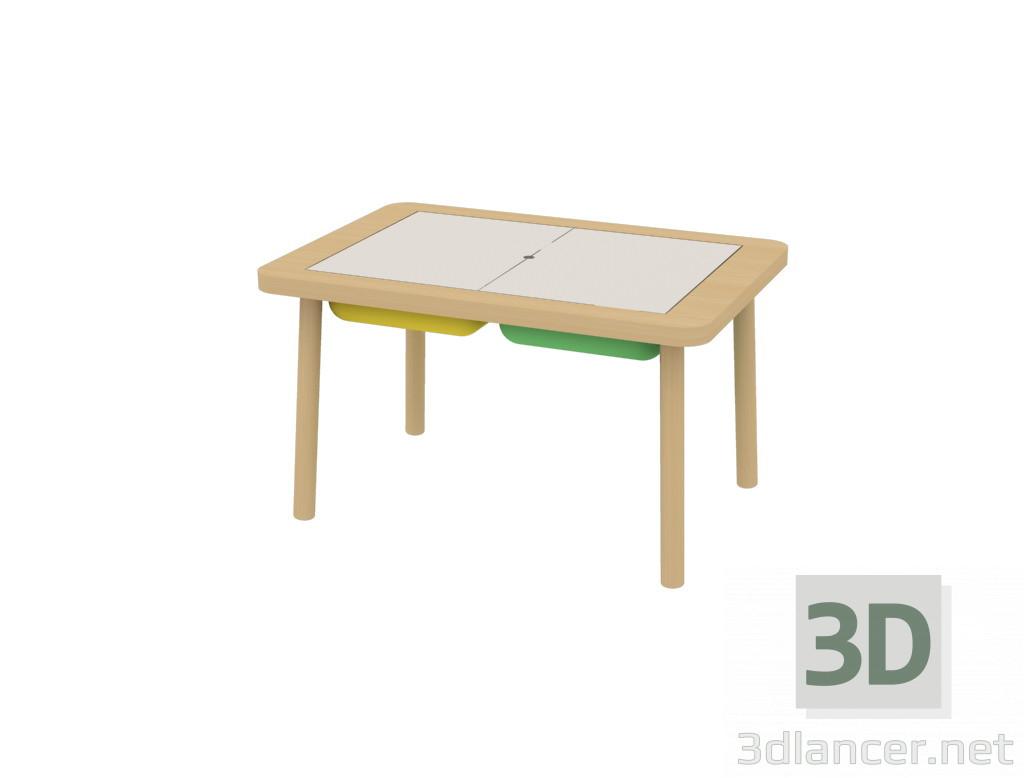 3d model Children's table FLYSAT IKEA - preview