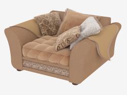 Una sedia con cuscini