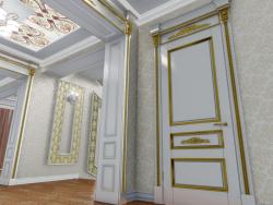 Klassische linke Tür